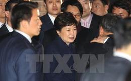 Lời phát biểu của bà Park làm những người phản đối tức giận