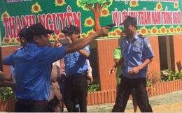 Bảo vệ cầm súng vào trường: Chủ trường chửi bới, xúc phạm người thi hành công vụ