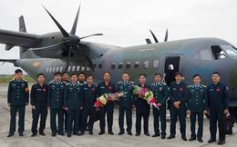 Lữ đoàn Không quân 918 tăng cường đào tạo, chuyển loại trên máy bay Casa-295