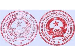 Vụ 2 con dấu ở Phan Thiết : Đề nghị kiểm điểm, xử lý lãnh đạo TP