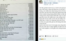 Tranh cãi chuyện gia đình 4 người chi tiêu hơn 70 triệu/tháng