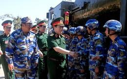 Bộ Quốc phòng kiểm tra toàn diện công tác huấn luyện, SSCĐ của Quân chủng Hải quân