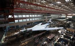 Nga bắt đầu chế tạo các thành phần của máy bay ném bom Tu-160M2