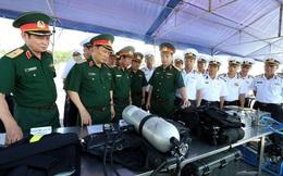 Tổng Tham mưu trưởng QĐND Việt Nam thăm, kiểm tra Lữ đoàn 126 và Vùng 1 Hải quân