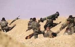 """Video chiến sự Syria: Tên lửa chống tăng """"thổi bay"""" xe bom tự sát IS"""