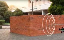 Nhìn xuyên tường gạch bằng... sóng wifi