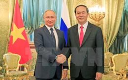 Chủ tịch nước Trần Đại Quang hội đàm với Tổng thống Nga Putin