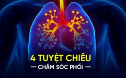 """Mùa hè là """"mùa vàng"""" dưỡng phổi: Chuyên gia mách bạn 4 bí quyết không nên bỏ lỡ"""