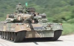 Tăng T-80U Nga lặn ngầm, nhả đạn tại Hàn Quốc