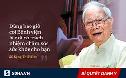 Giáo sư 101 tuổi: Chăm sóc sức khỏe đúng cách thì sẽ không phải lo vào viện chữa bệnh!