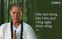 Bài phỏng vấn lay động của Lý Liên Kiệt về hành trình đến với đạo Phật: Xin hãy trân quý từng ngày được sống