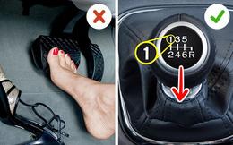 """7 thói quen lái xe có thể """"đốt cháy"""" túi tiền của bạn"""