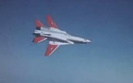 """Chóng mặt xem chiến đấu cơ F-14 Tomcat """"lộn mèo"""" trên không"""