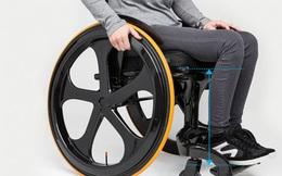 Chiếc xe lăn độc đáo trông tựa không khác một chiếc xe đua công thức 1