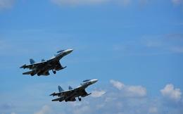 Quân chủng PK-KQ: Mi-8, Mi-17, Su-22, Su-30MK2 đồng loạt bắn, ném bom an toàn, hiệu quả