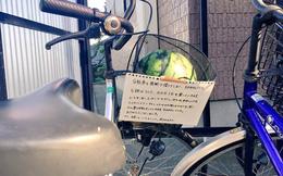 """Trộm xe phong cách Nhật Bản: """"Mượn tạm"""" rồi trả lại kèm quà quý và lời nhắn nhủ khiến dân mạng cười lăn"""