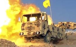 Quân đội Syria áp tải IS rút lui, phiến quân hối hả đốt bỏ máy móc, trụ sở ở Liban