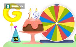 """""""Cú hích"""" 19 năm: Bí mật vòng xoay bất ngờ dành cho sinh nhật Google"""