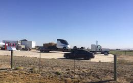 Đây có phải là chiếc xe tải chạy điện Tesla mà Elon Musk hứa hẹn không?