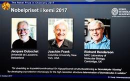 """Giải Nobel Hóa học 2017 đã có chủ: Ba nhà nghiên cứu đặt nền móng cho công nghệ """"ngủ đông"""" của tương lai"""