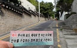 Truyền đơn nghi từ Triều Tiên xuất hiện quanh dinh Tổng thống Hàn Quốc