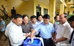 Chủ tịch HN: Giải quyết triệt để vấn đề nước sạch cho vùng bị cô lập do mưa lũ
