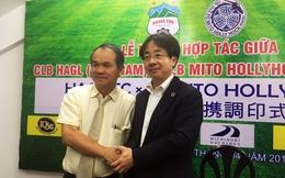 """Chủ tịch Mito Hollyhock sang HAGL """"lấy người"""""""