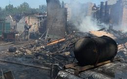 Lực lượng an ninh Ukraine nã đạn pháo về phía sĩ quan Nga ở Donbass