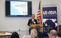 Đại sứ Phạm Quang Vinh dự hội thảo về APEC tại Viện Hoa Kỳ-châu Á