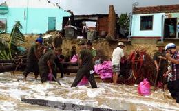 Trung ương Hội Chữ thập đỏ kêu gọi giúp đỡ đồng bào miền Trung khắc phục hậu quả mưa bão