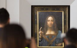 """Bức họa """"Đấng Cứu thế"""" của Leonardo da Vinci được bán giá 450 triệu USD, đắt nhất mọi thời đại"""