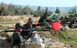 Sư đoàn 9 (Quân đoàn 4) diễn tập bắn đạn thật