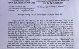 Tiền Giang lên tiếng vụ cấm bài hát Màu hoa đỏ