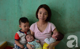 Hà Nội: Người mẹ lên mạng cho bớt 1 đứa con sau khi sinh đôi vì không nuôi nổi