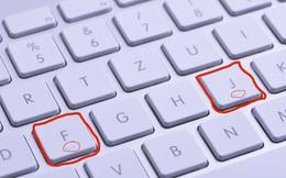 Tại sao mọi bàn phím máy tính đều có gờ nổi ở phím F và J?