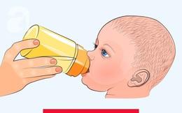 Trẻ cần được bác sỹ khám chữa sớm nhất có thể nếu thấy 1 trong 7 dấu hiệu dưới đây