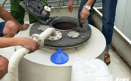 Đột nhập 'hang ổ' pha chế xăng 'bẩn' ở Nghệ An