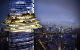 Vườn địa đàng trên tòa nhà tháp cao nhất Việt Nam