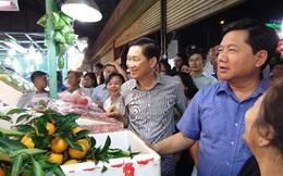 Bí thư Thành ủy TP.HCM lo bữa cơm an toàn cho dân