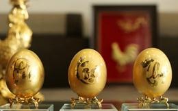 Chiêm ngưỡng bộ trứng vàng 30 lượng của đại gia Quảng Ninh