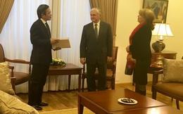 Ông Trần Đăng Tuấn làm Lãnh sự danh dự Cộng hoà Armenia tại Việt Nam