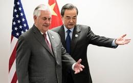 Ngoại trưởng Mỹ Rex Tillerson gặp gỡ người đồng cấp Trung Quốc