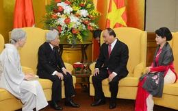 Thủ tướng Chính phủ hội kiến với Nhà vua và Hoàng hậu Nhật Bản