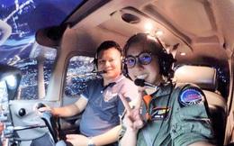 Nhan sắc nữ phi công được mệnh danh là xinh đẹp nhất Thái Lan