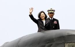 Đài Loan quyết tự đóng tàu ngầm chống Trung Quốc