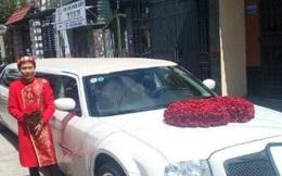Lễ rước dâu bằng 'xế độc' 3 bánh và limousine trắng ba khoang