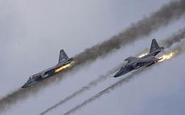 Hama thất thủ, Nga trả thù vụ oanh kích Hmeymim
