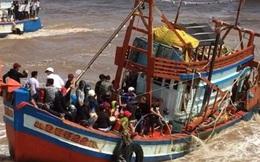 Mòn mỏi tìm người mất tích vụ chìm tàu ở Bạc Liêu