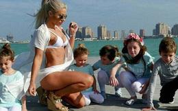 """Đẹp quá cũng là cái tội: Mẹ 5 con bị nghi ngờ giả mang bầu vì có thân hình quá """"nuột"""""""