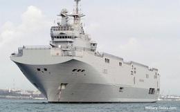 Tàu đổ bộ chở trực thăng lớp Mistral của Pháp đến Nhật Bản